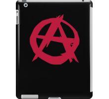 Anarchy anarchist punk symbol rebellion iPad Case/Skin