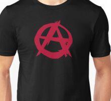Anarchy anarchist punk symbol rebellion Unisex T-Shirt