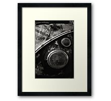 VW Type 2 Split Screen camper / bus Framed Print