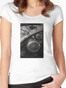 VW Type 2 Split Screen camper / bus Women's Fitted Scoop T-Shirt
