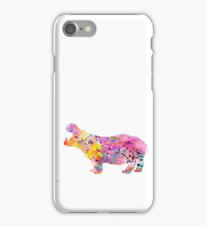 Hippo  iPhone Case/Skin