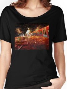 Spaceman - grand trans-mars railway Women's Relaxed Fit T-Shirt