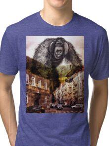 gorilla in the city Tri-blend T-Shirt