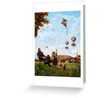 A Fair, Windy Day Greeting Card