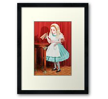 Alice - Drink Me Framed Print