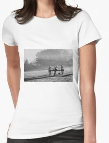 Historical Civil War Cannon Womens Fitted T-Shirt