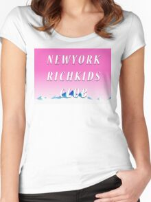 NEW YORK RICH KIDS CLUB Women's Fitted Scoop T-Shirt