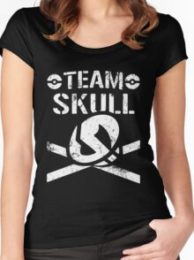 Team Skull / Bullet Club Women's Fitted Scoop T-Shirt