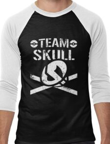 Team Skull / Bullet Club Men's Baseball ¾ T-Shirt