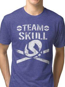 Team Skull / Bullet Club Tri-blend T-Shirt