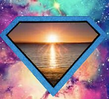 Abstract Super Beach by HOTShirts