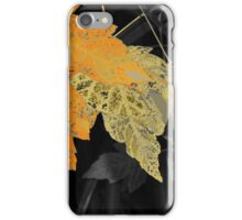 Leaves Selected Colored iPhone Case/Skin