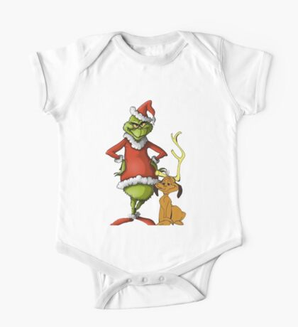 The Grinch and Max One Piece - Short Sleeve