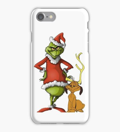 The Grinch and Max iPhone Case/Skin