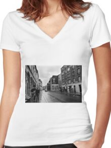 Urban terrior - Reims France Women's Fitted V-Neck T-Shirt