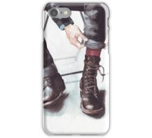 A Boot Moment iPhone Case/Skin