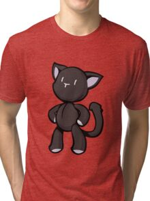 The World Ends With You - Mr. Mew Tri-blend T-Shirt