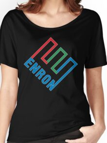 Enron LOGO Women's Relaxed Fit T-Shirt