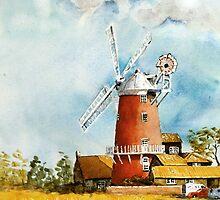 Norfolk mill by Steven  Ponsford
