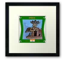India - A Nation of Variables Framed Print
