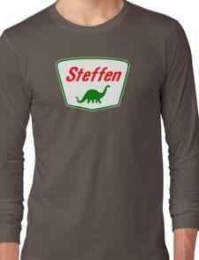 Steffen The Dinosaur, Clifford Movie Long Sleeve T-Shirt