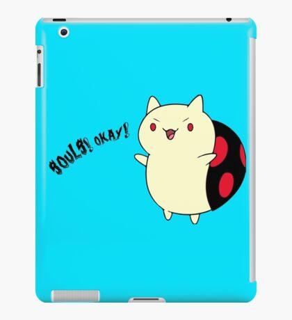 Catbug - Adventure Time - Evil Parody iPad Case/Skin