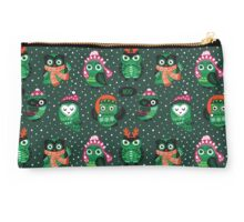 Christmas owls Studio Pouch
