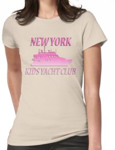 NY YACHT CLUB Womens Fitted T-Shirt