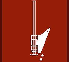 Guitar Art - Explorer  by PPWGD