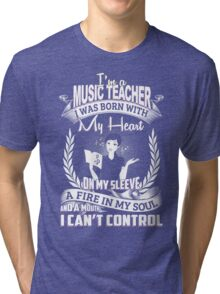 Music teacher T-shirt Tri-blend T-Shirt