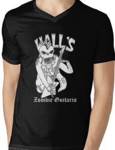 skull - harebrained - artwork - grapic Mens V-Neck T-Shirt