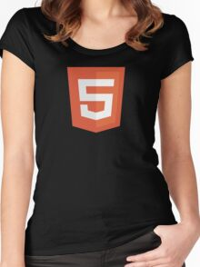 HBO SILICON VALLEY 'HTML5' Women's Fitted Scoop T-Shirt