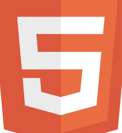 HBO SILICON VALLEY 'HTML5' Sticker