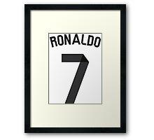 Ronaldo 2014/2015 Framed Print