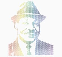 Rainbow Martin Luther King Jr. by Nick Jump