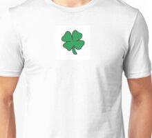 FOUR LEAF CLOVER OF GOOD FORTUNE! Unisex T-Shirt
