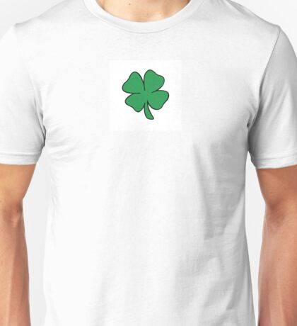 FOUR LEAF CLOVER OF GOOD FORTUNE! Unisex T-Shirt