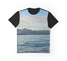 Scenic Mountain Photography Print Graphic T-Shirt