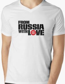 From Russia With Equal Love Mens V-Neck T-Shirt