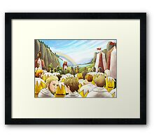 William Tell Frees The Austrian Army Framed Print