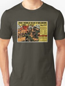 200 WW2 Soldiers Comic Book Ad T-Shirt