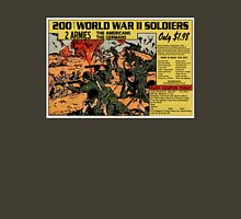 200 WW2 Soldiers Comic Book Ad Unisex T-Shirt