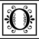 Letter O Monogram by imaginarystory