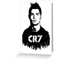 CR7 tattoo Greeting Card