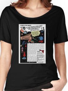 Space Rangers Comic Ad Women's Relaxed Fit T-Shirt
