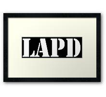 LAPD Framed Print