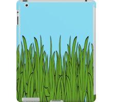Tall Green Grass and Blue Sky iPad Case/Skin