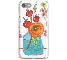 Encouraging Flowers iPhone Case/Skin