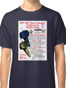 Space Commander Walkie Talkies Classic T-Shirt