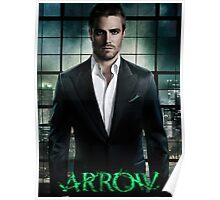 Stephen amell Arrow Starling City Poster